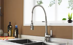 pacific sales kitchen faucets enzo rodi erf7209251cp 10 modern commercial kitchen faucet with