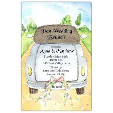 post wedding brunch invitations awesome post wedding brunch invitations and just married wedding