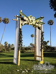wedding arches bamboo 27 best bamboo weddings images on bamboo poles