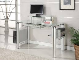 Modern Home Computer Desk Furniture Modern Home Office Decoration Design With Ikea Glass