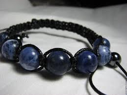 shamballa bracelet handmade images Shamballa bracelet sodalite quot blue planet prime quot shop online on jpg