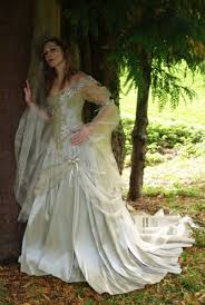Unusual Wedding Dresses Fairy Wedding Dress Style Titania