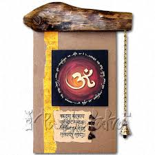 buy decorative om aum wall hanging online in india panchatatva