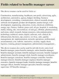 benefits officer sample resume benefits clerk sample resume best