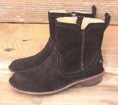 ugg s neevah boots ugg australia womens dree black leather boots us 7 uk