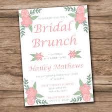 bridesmaid brunch invitation best bridal shower invitation templates products on wanelo