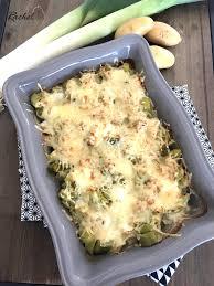 cuisine legere gratin poireaux pommes de terre léger et sa cuisine