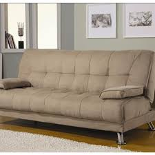 Futon Sofa Bed With Storage Fabric Convertible Sofa Bed With Removable Armrests
