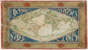 World Map Actual Size Ancient World Maps World Map 16th Century