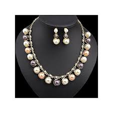 best pearl necklace images Buy generic fashion pearl necklace diamond earrings best price jpg
