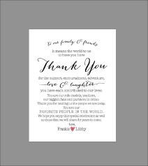 wedding gift thank you wording cool thank you cards wedding wording to create your own wedding