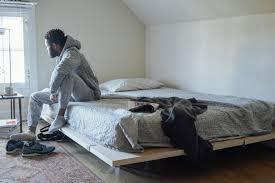 Modular Bed Frame The Floyd Platform Bed A Modern And Modular Bed Frame Ippinka