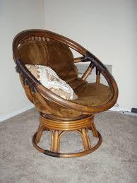 furniture soft brown papasan swivel chair cushion papasan chair