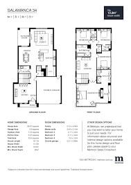 salamanca 34 by metricon price floorplans facades display
