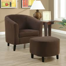 accent chair with ottoman decofurnish