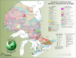 Map Of Ontario The Geology Behind Ontario U0027s World Class Metal Districts The