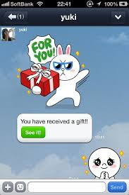 tutorial cara membuat line sticker new feature to send stickers to friends for iphone line official blog