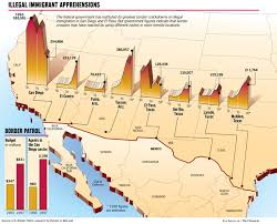 map usa mexico border 19 u s mexico border patrol joe shoulak graphics