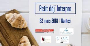 chambre des notaires pays de la loire inscription petit déjeuner interprofessionnel 22 mars 2018