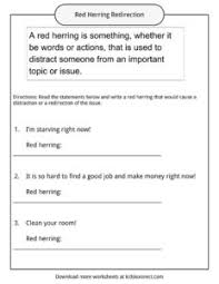 red herring definition worksheets facts u0026 examples for kids