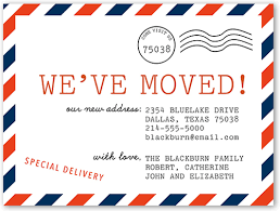 we ve moved postcard 4x5 card moving announcements shutterfly