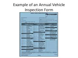 Vehicle Inspection Report Template Free by Vehicle Inspection