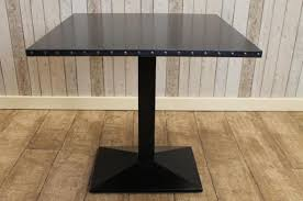 Industrial Bistro Table Industrial Restaurant Tables Handmade To Order Vintage Style Steel