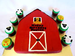 barn cake topper farm animals cupcakes and barn cake cakecentral