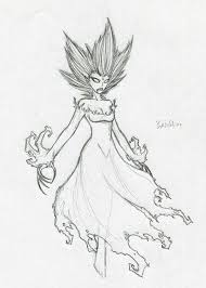 banshee sketch by phantom62 on deviantart