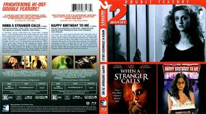 when a stranger calls happy birthday to me dvd covers and labels