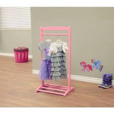 home craft kids u0027 clothes rack white walmart com