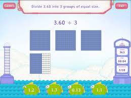 divide decimals by a whole worksheets fifth grade math