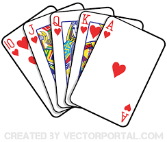 deck of cards clipart 82