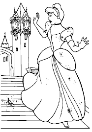 37 cinderella coloring pages images cinderella