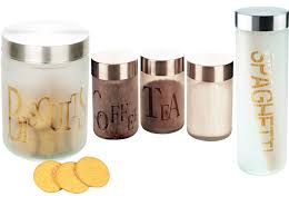 glass kitchen canister sets the functional glass kitchen