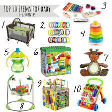 Top 10 Must Baby Items by Top 10 Must Haves For Babies 6 12 Month Our Handcrafted