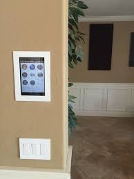 In Wall Mount For Ipad Smartthings Flush Wall Mount Project Devices U0026 Integrations