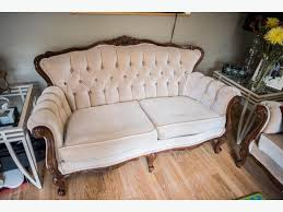 French Provincial Sofas French Provincial Style Sofa Love Seat And Chair Set Orleans Ottawa