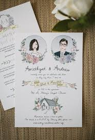 photo wedding invitations best 25 illustrated wedding invitations ideas on