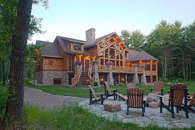 unfinished cabins log cabins wisconsin modest luxury log cabin plans or other home exterior fireplace