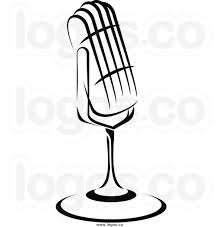 martini clip art radio microphone clip art black and white clipart panda free