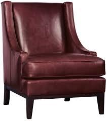Lancaster Leather Sofa Chair Bernhardt
