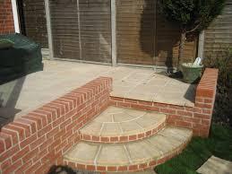 Patio Design Idea by Superb Garden Wall Decorative Brick Walls Smalltowndjs Com Also