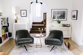 Swivel Armchairs For Living Room It Takes Two Or A West Elm Roar Rabbit Giveaway Wit U0026 Delight