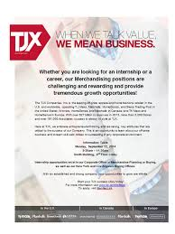 are you looking for an internship or career in merchandising