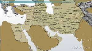 Blank Map Of Mesopotamia by The Ancient Nile Valley Civilizations Region U0026 Facts Video