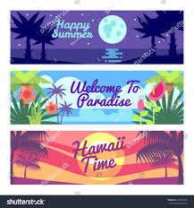 Hawaii is time travel possible images Happy summer travel time hawaii vector stock vector 478443796 jpg
