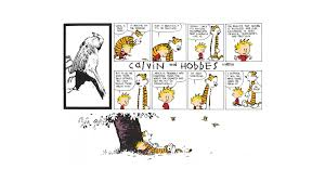 the best calvin and hobbes sunday strip excluding the last one
