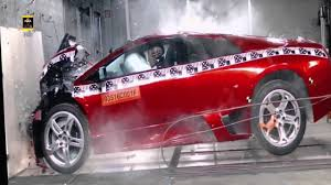 crashed lamborghini lamborghini veneno crash test youtube