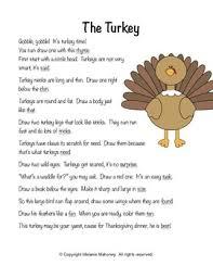 rhyme draw thanksgiving by mrs mahoney teachers pay teachers